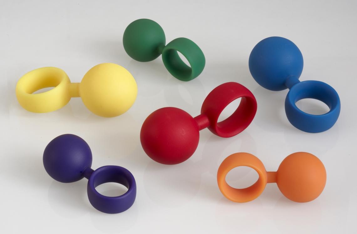 Susanne Klemm, Red Light Collectie, Balls, ringen, 2008. Foto met dank aan Susanne Klemm©