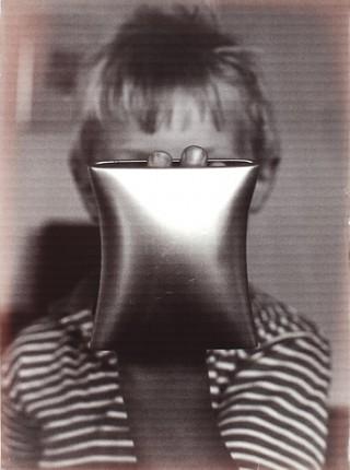 Helena van der Kraan, zwart wit foto, 1990. Foto met dank aan Stichting Françoise van den Bosch©