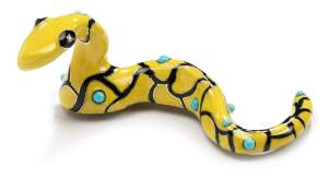 Niki de Saint Phalle, Serpent Jaune, 1977. Courtesy of Louisa Guinness Gallery©