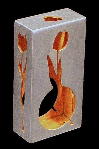 Susanne Klemm, Sleeping Beauty, Orange Tulip, 2003. Foto met dank aan Susanne Klemm©