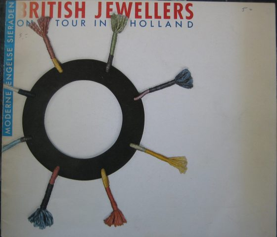 British Jewellers on tour in Holland, tentoonstellingscatalogus.