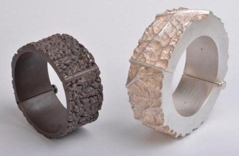 Barbara Paganin, Impronte, armbanden, 2009. Foto met dank aan Barbara Paganin, Michele Zanin©