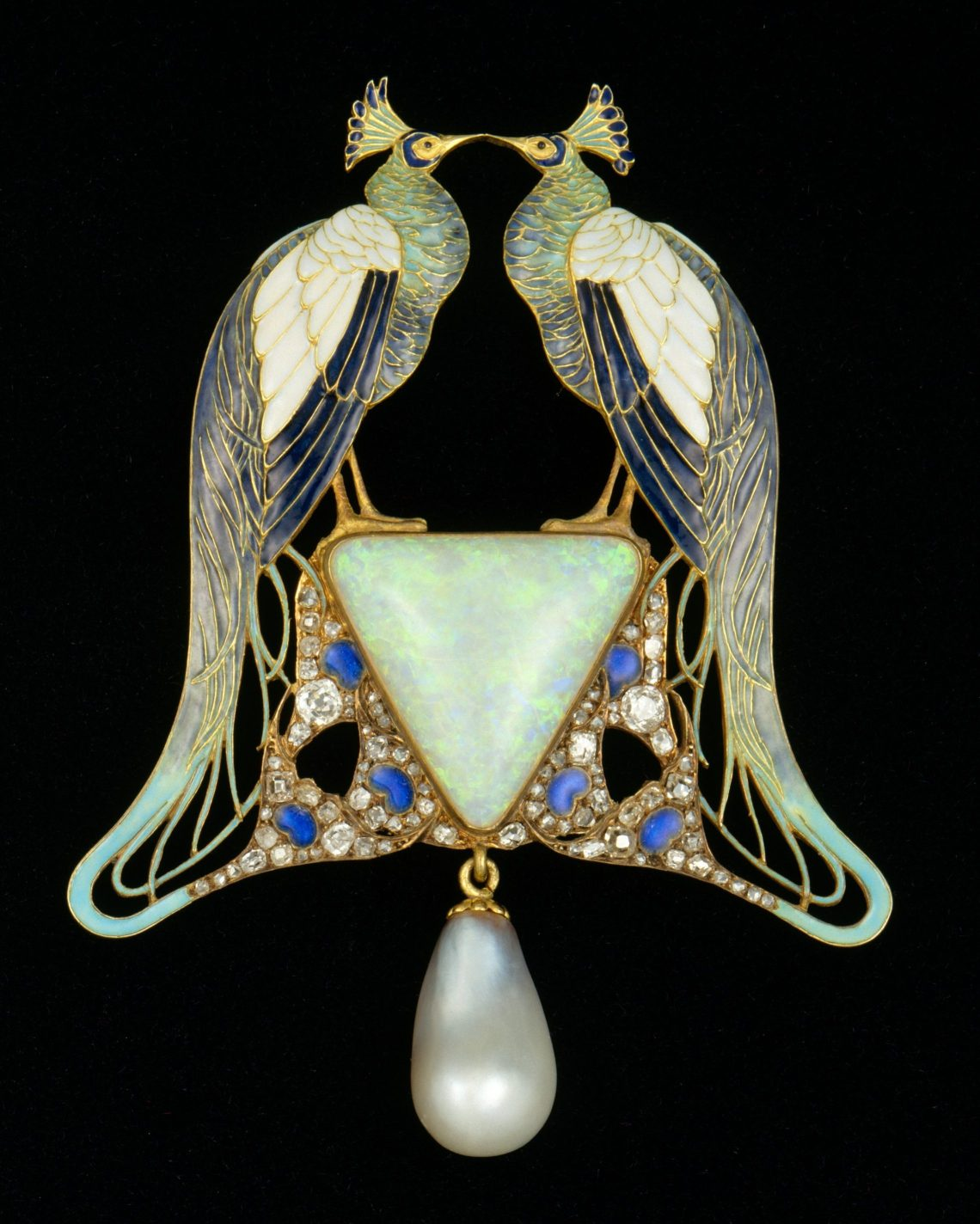 René Lalique, hanger, circa 1901. Foto met dank aan het Metropolitan, publiek domein (CC0 1.0)