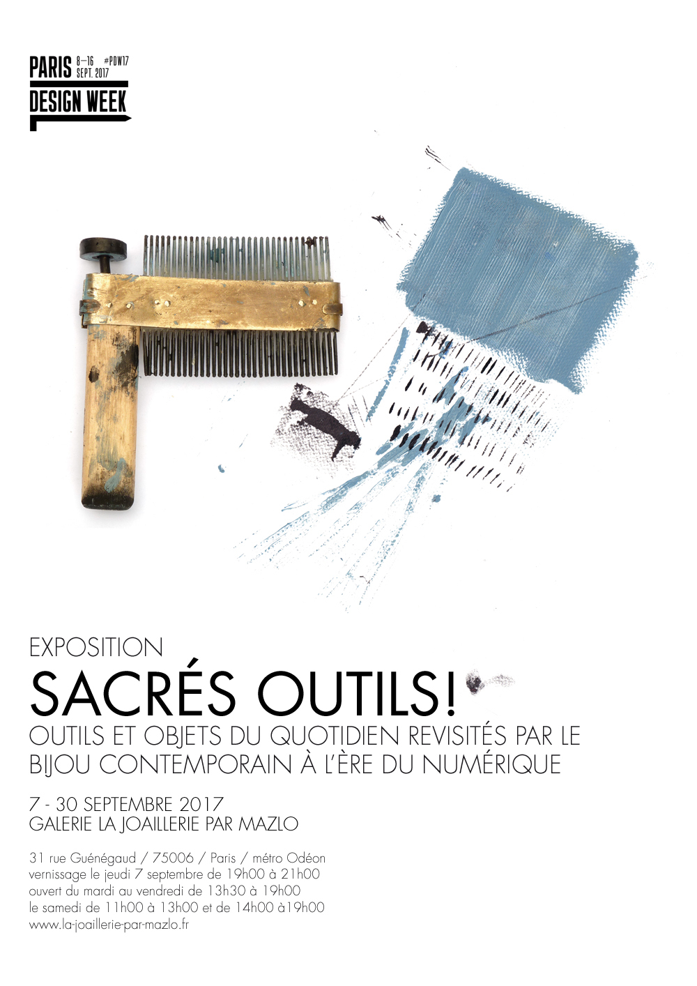 Robert Mazlo, Sacrés Outils! / Holy Tools! Foto met dank aan LA Joaillerie par Mazlo©