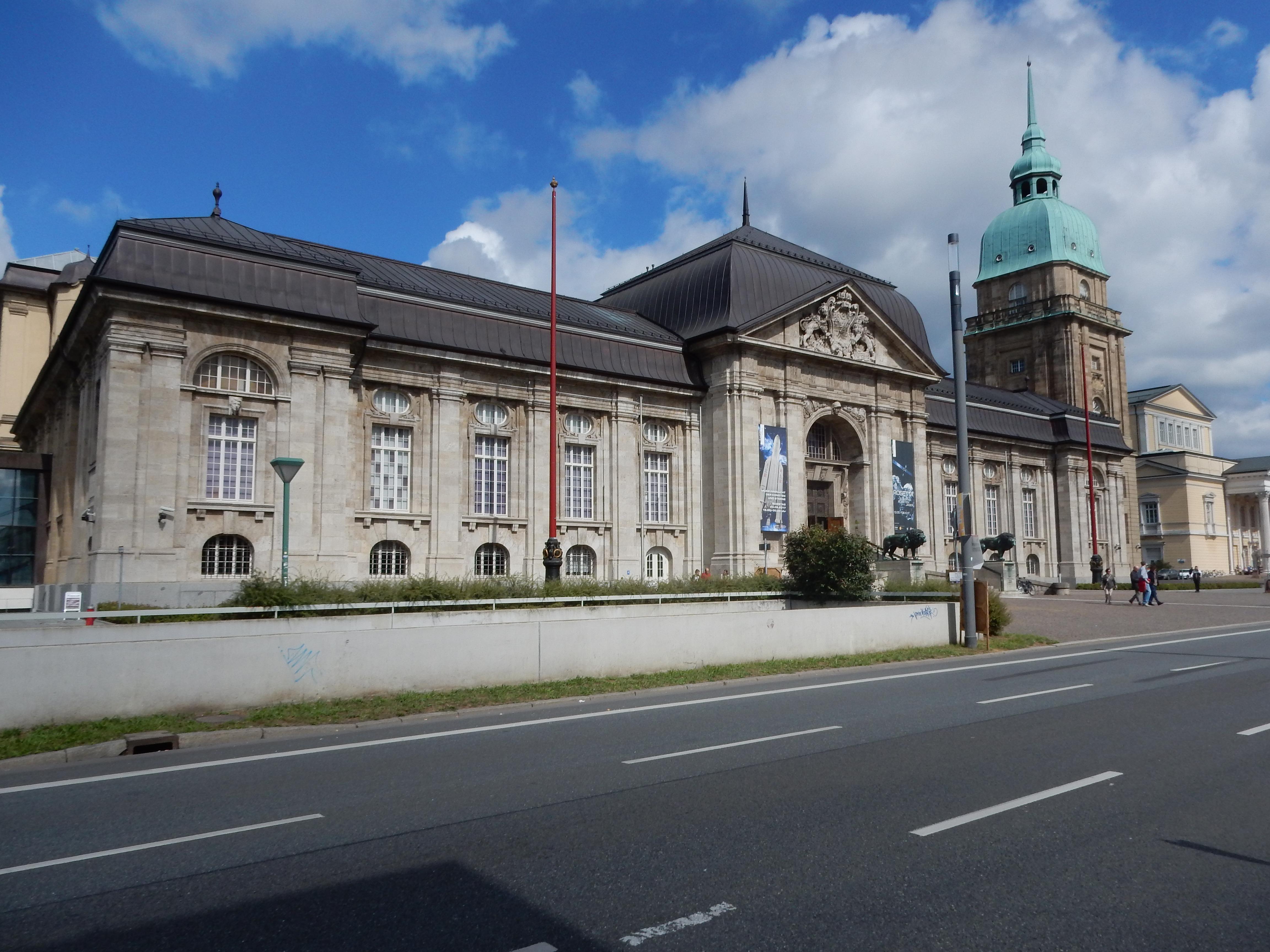Hessisches Landesmuseum Darmstadt, 10 september 2017. Foto met dank aan Coert Peter Krabbe©