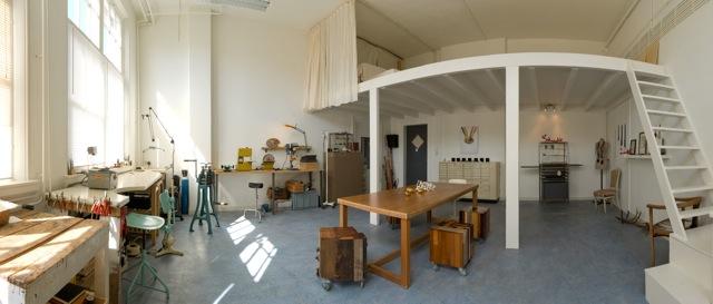Atelier van Jacomijn van der Donk. Foto met dank aan Jacomijn van der Donk©