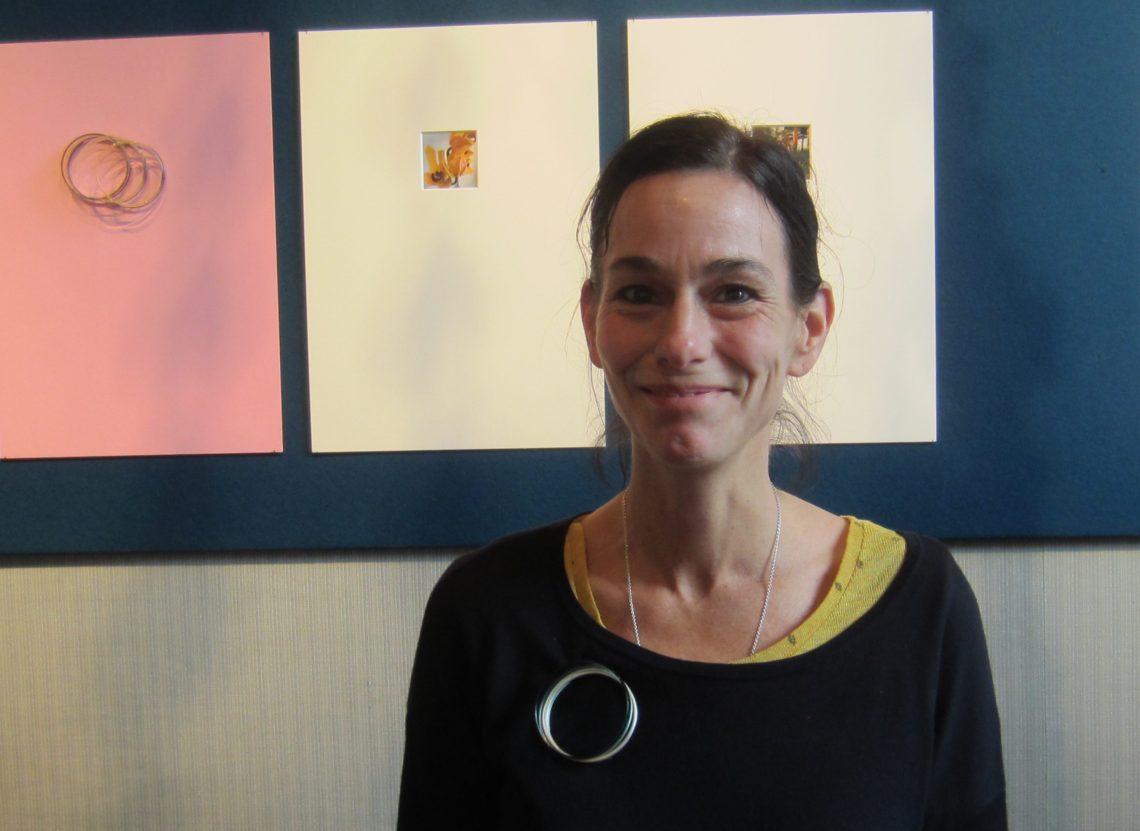 Gésine Hackenberg in Kunsthandel P. de Boer, november 2017. Foto met dank aan M.O.©