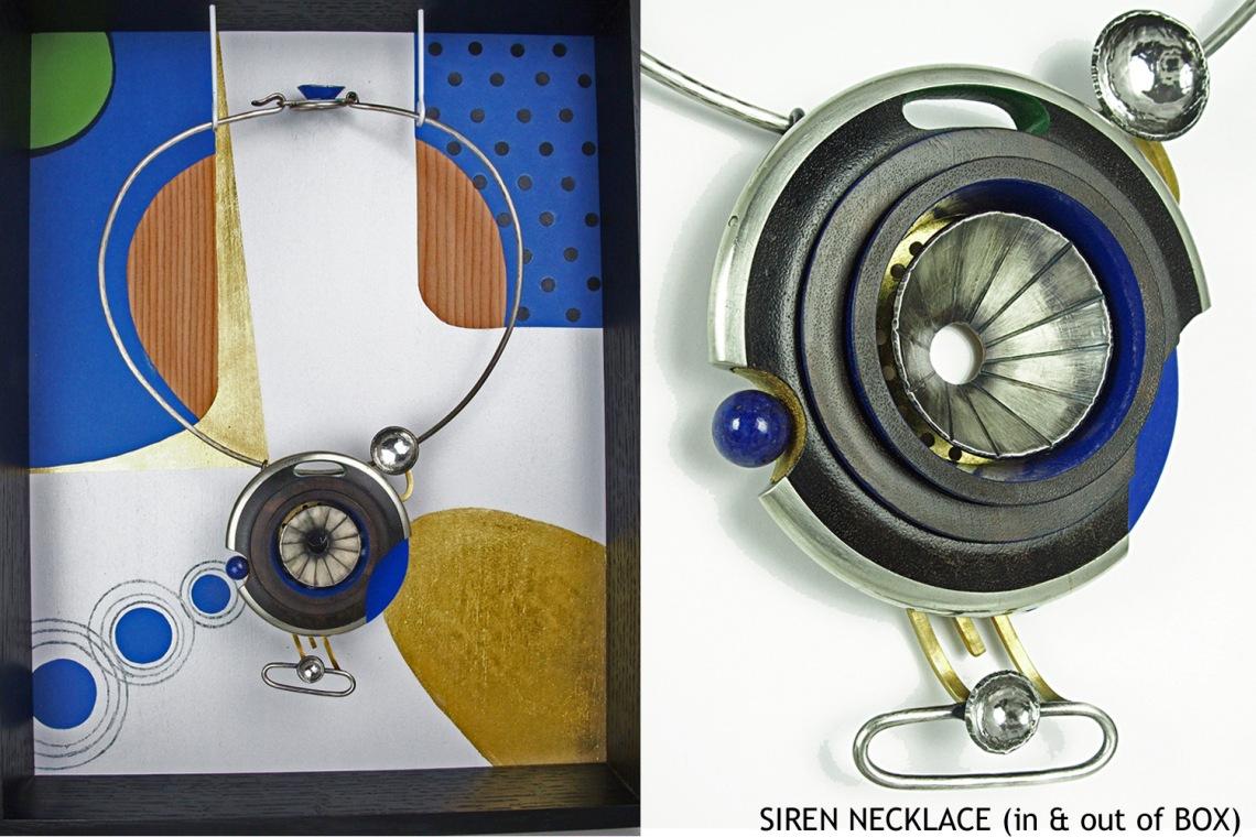 Lisa & Scott Cylinder, Siren Necklace, halssieraad, 2015. Foto met dank aan Lisa & Scott Cylinder©
