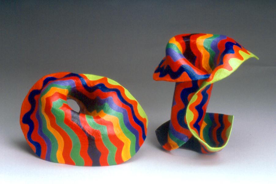 Marjorie Schick. armbanden, 1972. Foto met dank aan Galerie Ra©