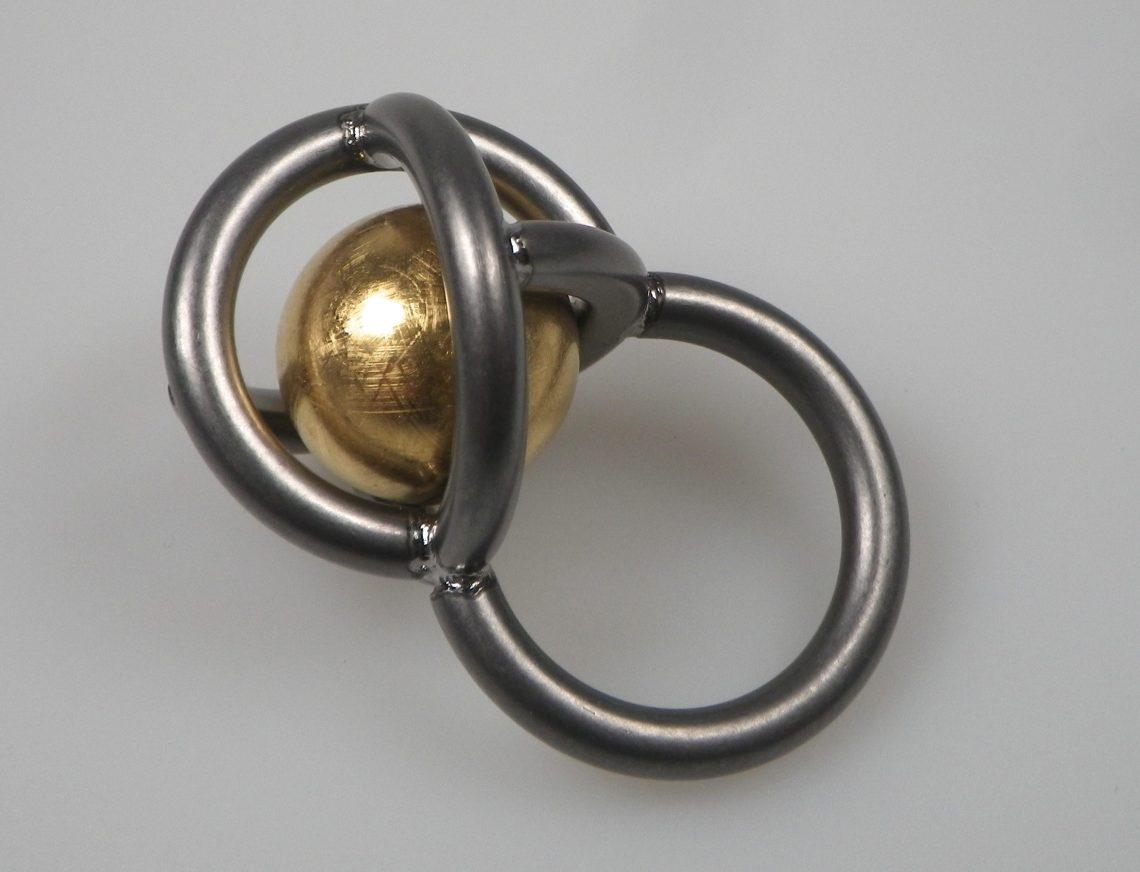 Jan Matthesius, RingDing, ring, 2017. Foto met dank aan Dubbelop, Jan Matthesius©