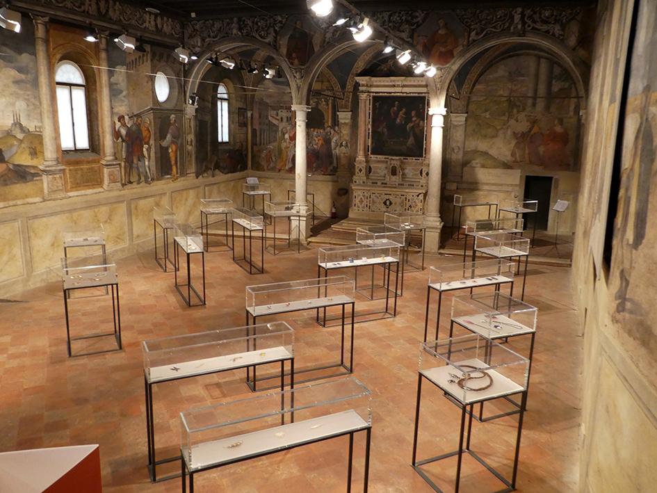 Pensieri Preziosi 13, Oratorio di San Rocco, Padua, 2017-2018. Foto met dank aan Margit Hart©