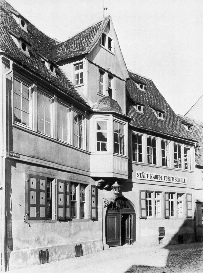 Staatliche Zeichenakademie Hanau, Gärtnerstraße. Foto Publiek domein