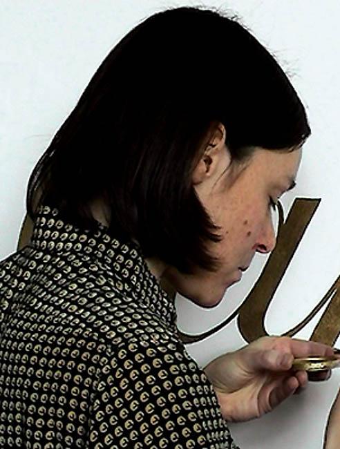 Suska Mackert. Foto met dank aan Galerie Spektrum©