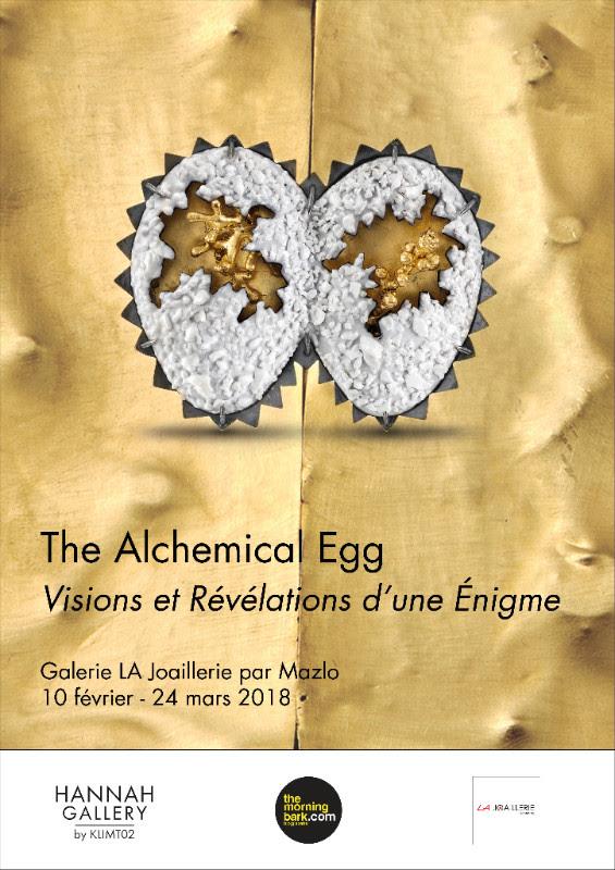 The Alchemical Egg, 2018. Foto met dank aan LA Joaillerie par Mazló©