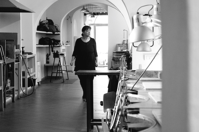 Lucia Massei in Alchimia. Foto met dank aan Alchimia©