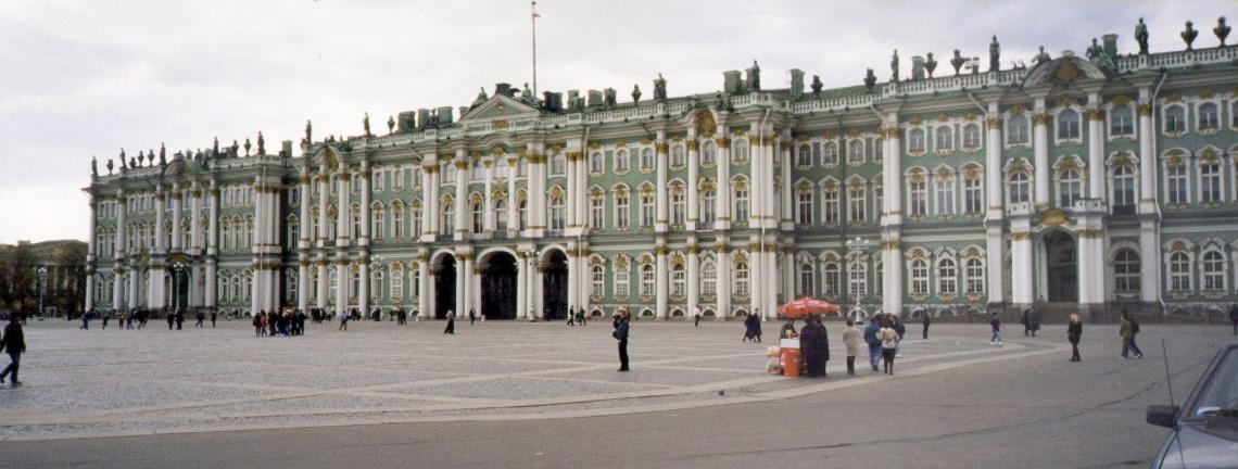 Hermitage, Sint-Petersburg. Foto met dank aan Zubro, CC BY-SA 3.0