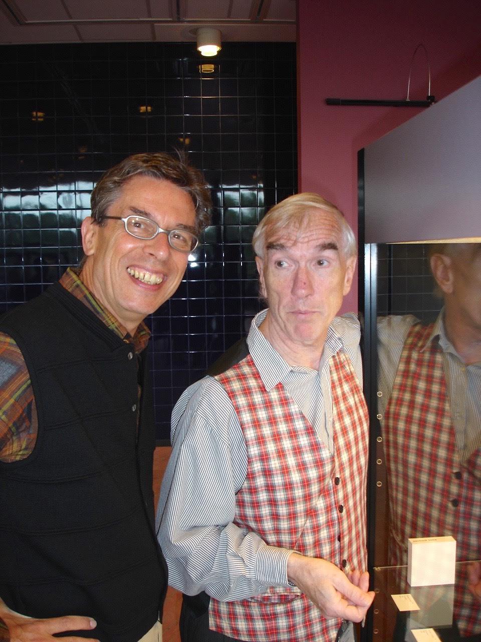 Rob Koudijs en Jurriaan van den Berg in de Nederlandsche Bank, 19 september 2006. Foto met dank aan Rob Koudijs©