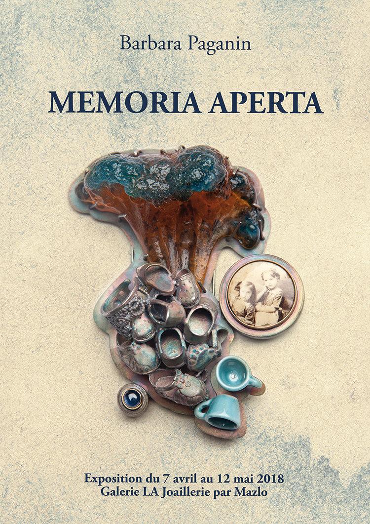 Barbara Paganin, Memoria Aperta. Foto met dank aan LA Joaillerie par Mazlo©