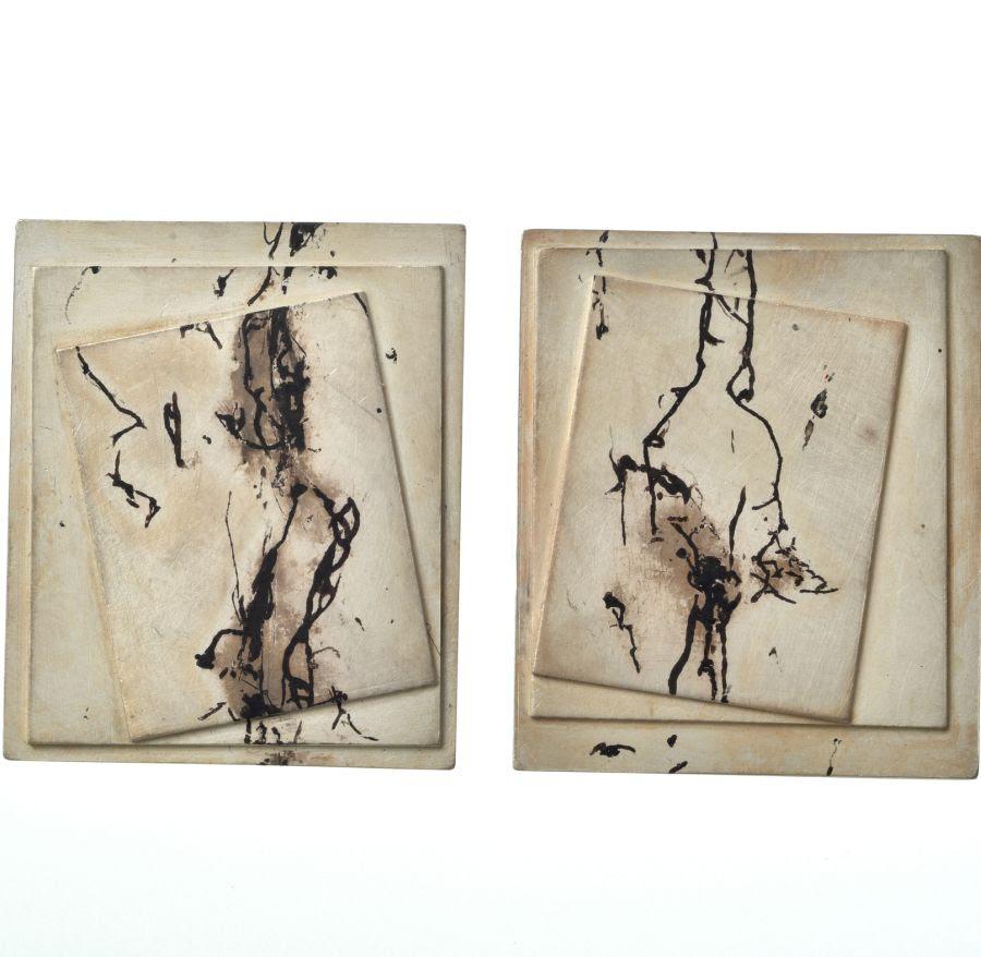 Heidemarie Herb, Due, oorsieraden. Foto met dank aan Galerie Slavik©