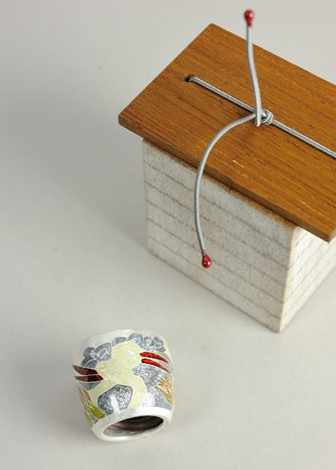 Esther Brinkmann, ring. Foto met dank aan Galerie TACTILe©