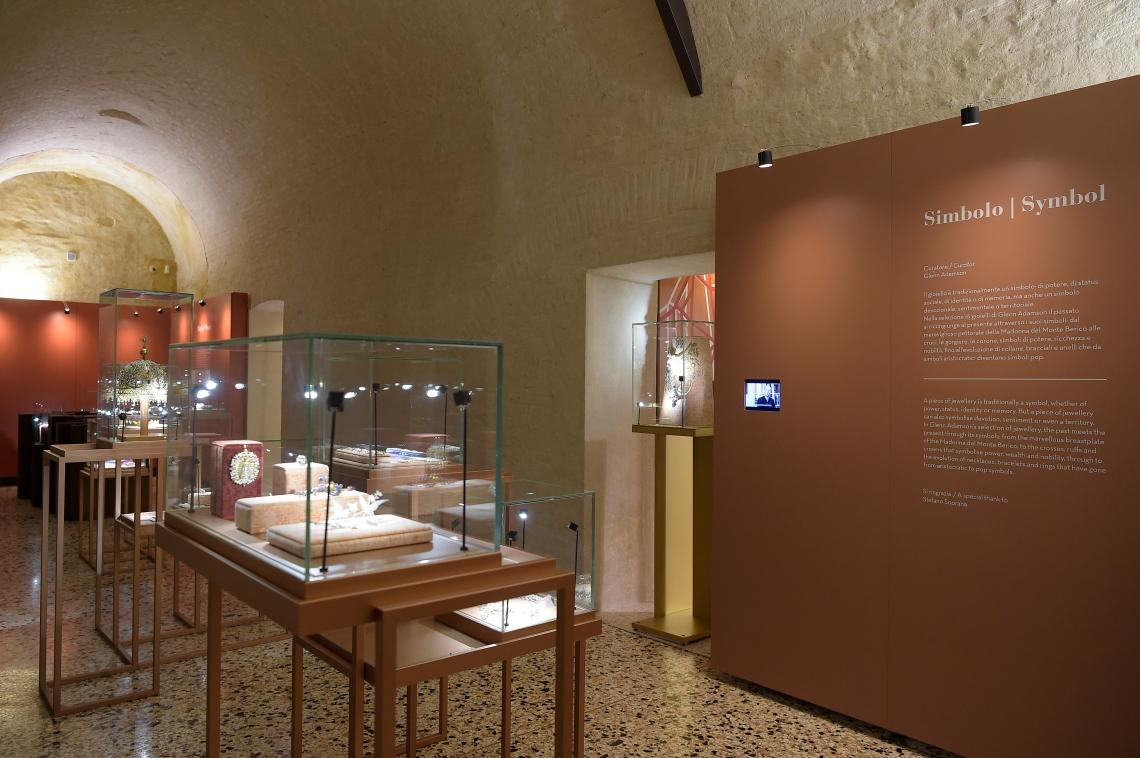 Museo del Gioiello, Sala Simbolo. Foto met dank aan Museo del Gioiello, Fabio Ferrari©