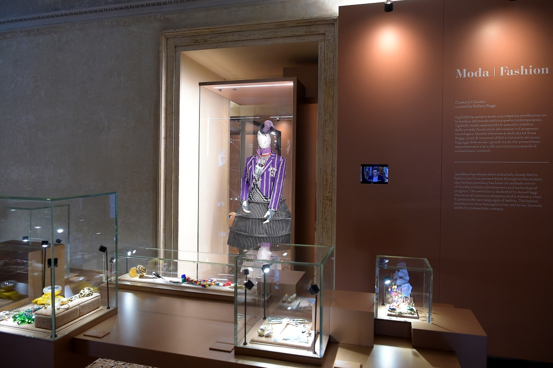 Museo del Gioiello, Sala Moda. Foto met dank aan Museo del Gioiello, Fabio Ferrari©
