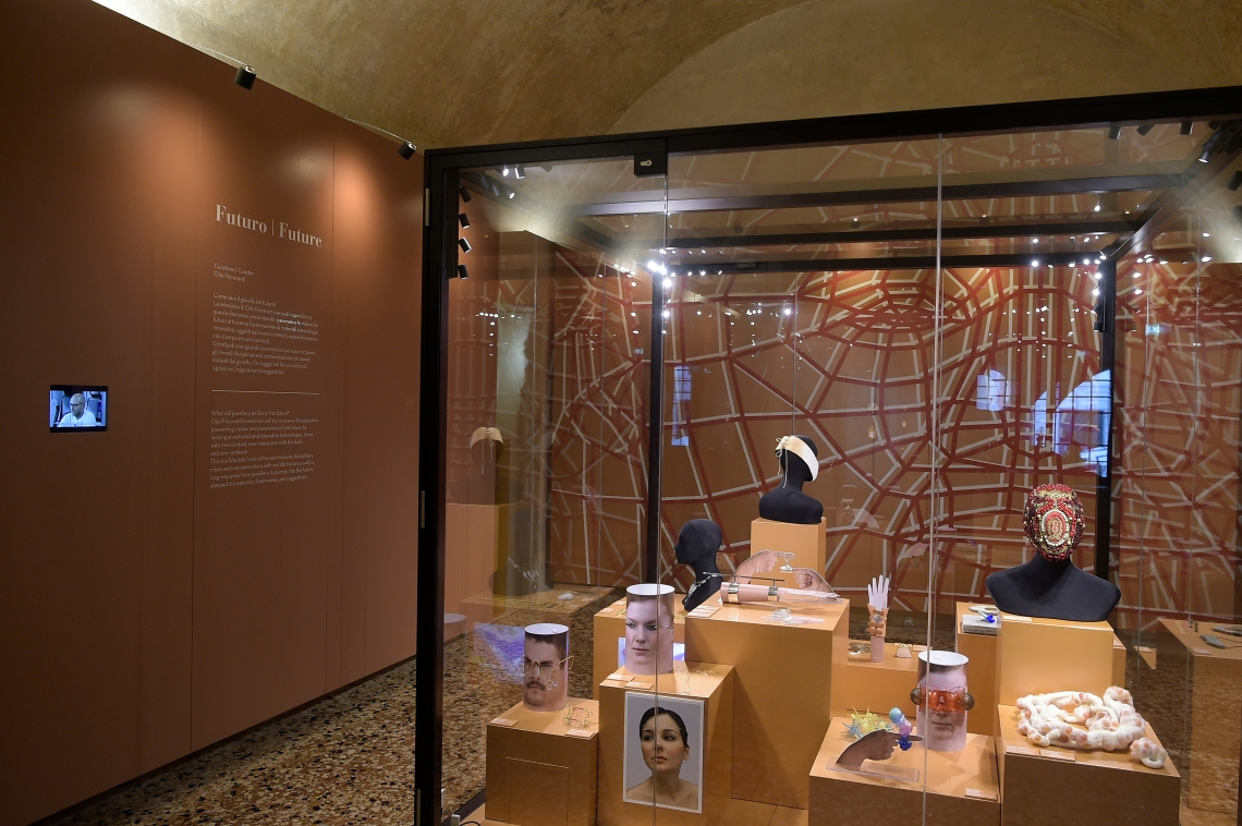 Museo del Gioiello, Sala Futuro. Foto met dank aan Museo del Gioiello, Fabio Ferrari©