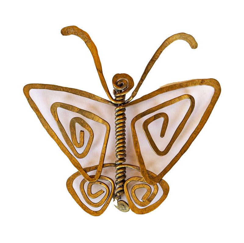 Alexander Calder, Butterfly, broche, 1940. Collectie Familie Makler. Foto met dank aan Museo del Gioiello©