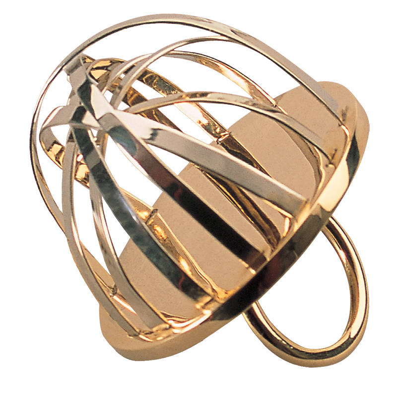 Ettore Sottsass, La Seduzione, ring, 2002. Foto met dank aan Museo del Gioiello©