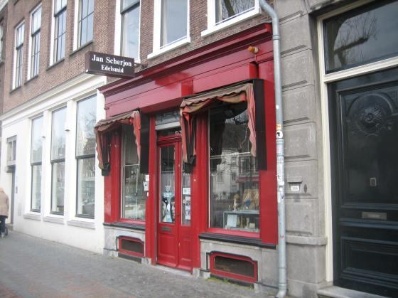 Jan Scherjon, Oudegracht 352 Utrecht, 25 maart 2018. Foto Esther Doornbusch©
