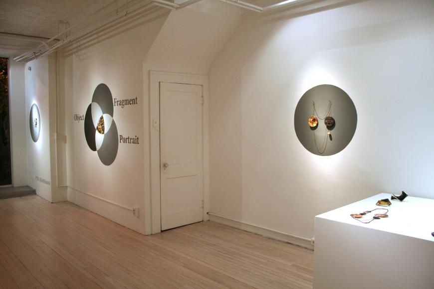 Petra Zimmermann, Object Fragment Portrait, 2012. Foto met dank aan Ornamentum Gallery©