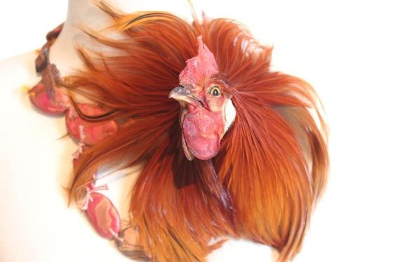 Idiots, Rooster, halssieraad, 2017. Foto met dank aan Ornamentum Gallery©