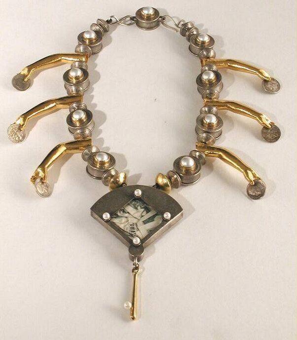 Nancy Worden, Diamonds and Lust, halssieraad, 1998. Foto met dank aan SMS©