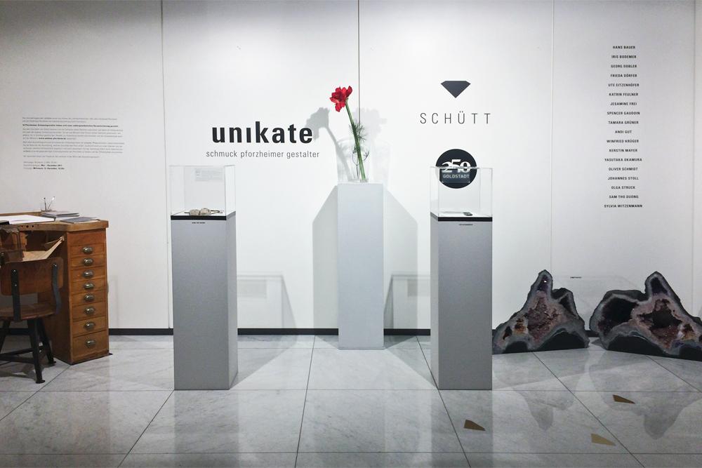Unikate, Schütt, Pforzheim, 2017. Foto met dank aan Schütt©