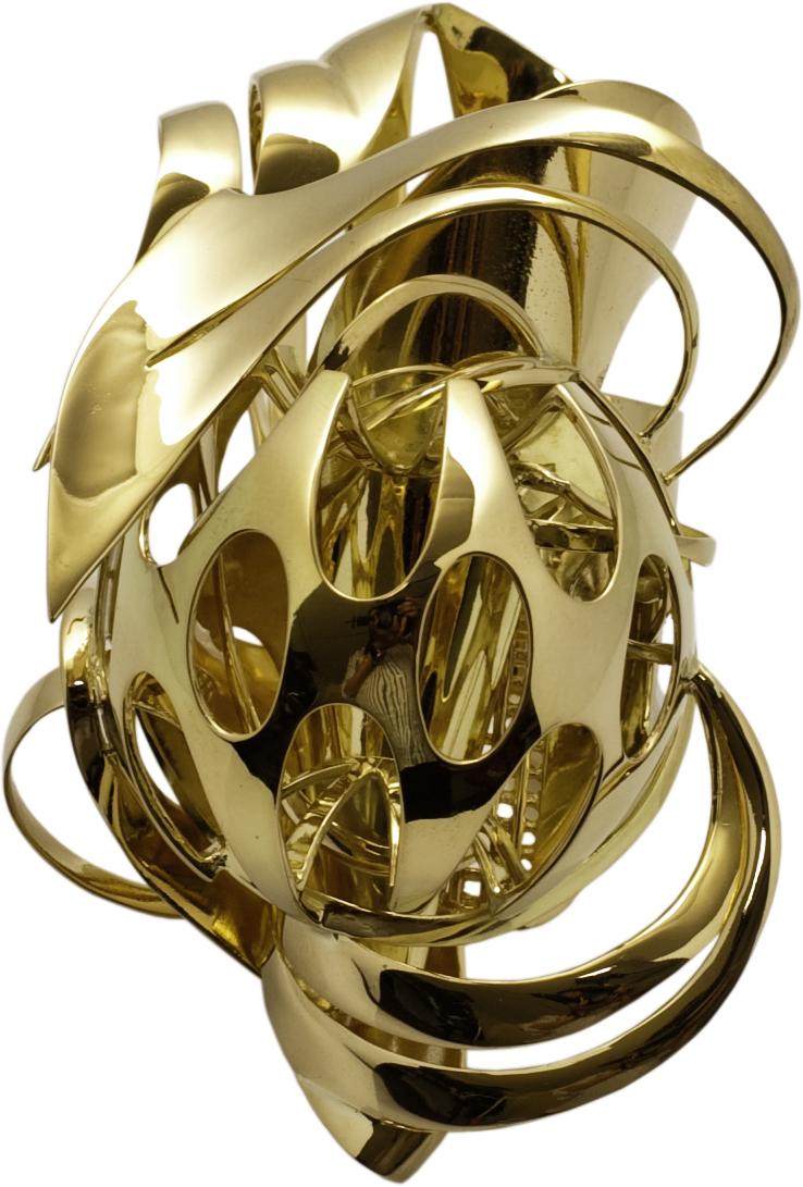 Frank Stella, ring, 2010. Collectie Diane Venet. Foto met dank aan Musée des Arts Décoratifs Parijs©