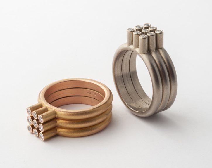 Cécile van Eeden, 3x3, ringen. Foto met dank aan Cécile van Eeden©