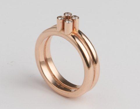 Cécile van Eeden, 2x2, ring. Foto met dank aan Cécile van Eeden©