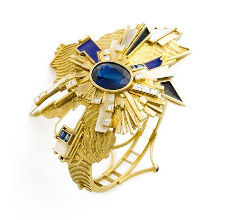 Giò Pomodoro, armband, 1980. Foto met dank aan Museo del Gioiello©