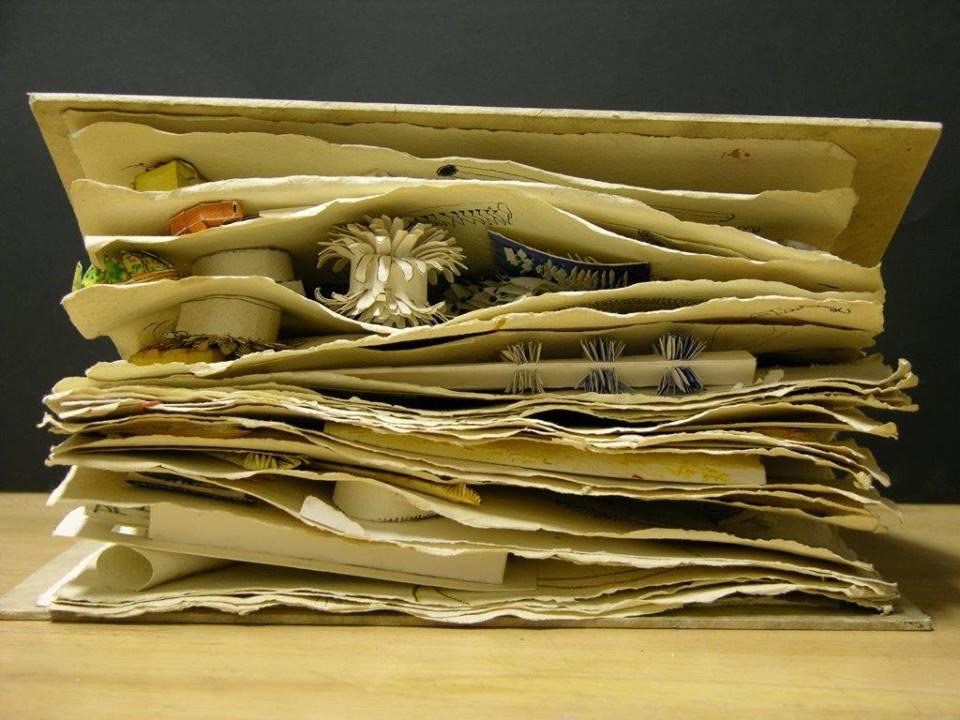 Schetsboek van Jacqueline Ryan, circa 1995. Foto met dank aan Jacqueline Ryan©