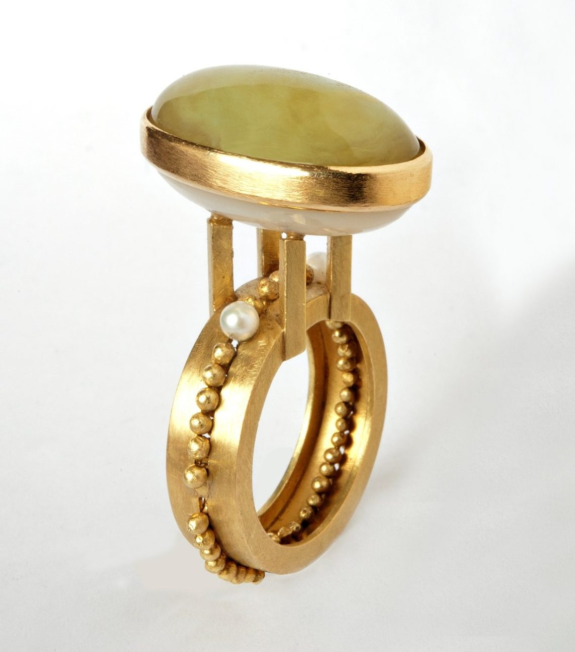 Francesca di Ciaula, Io Sto, ring, 2007. Foto met dank aan Francesca di Ciaula©