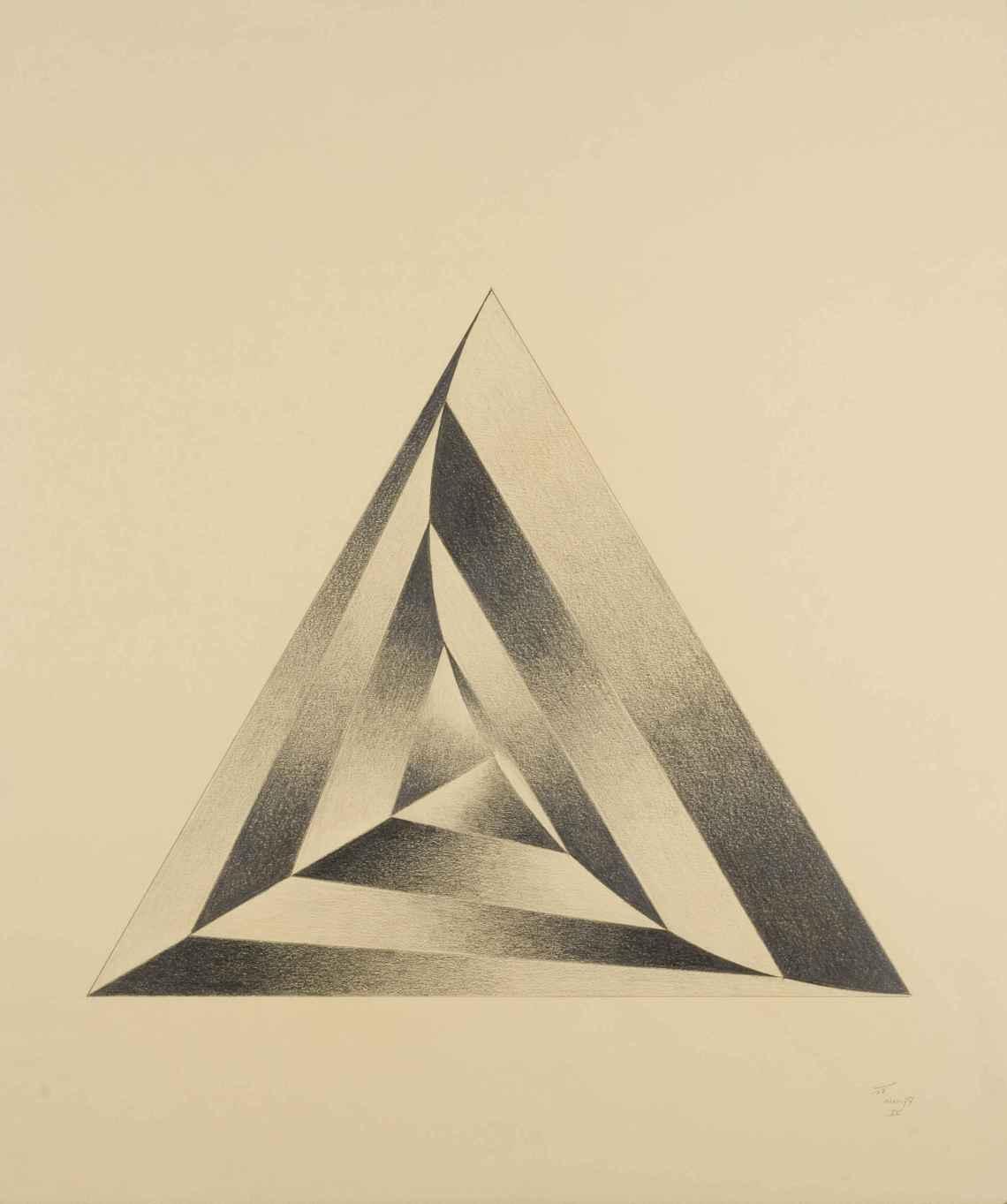 Nicolaas Thuys, tekening, 1977. Collectie CODA, NT00058. Foto met dank aan CODA©