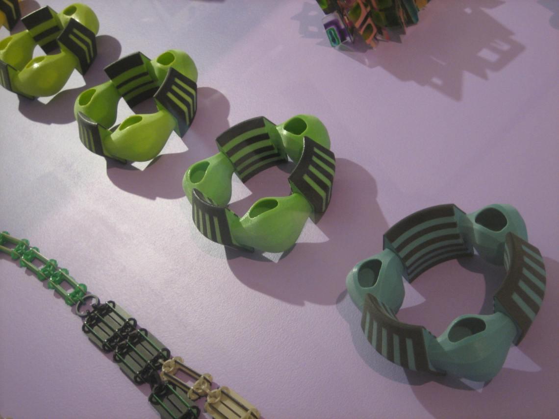 Svenja John, armbanden, 2008. CODA, 2018. Foto Esther Doornbusch, 25 juli 2018, CC BY 4.0