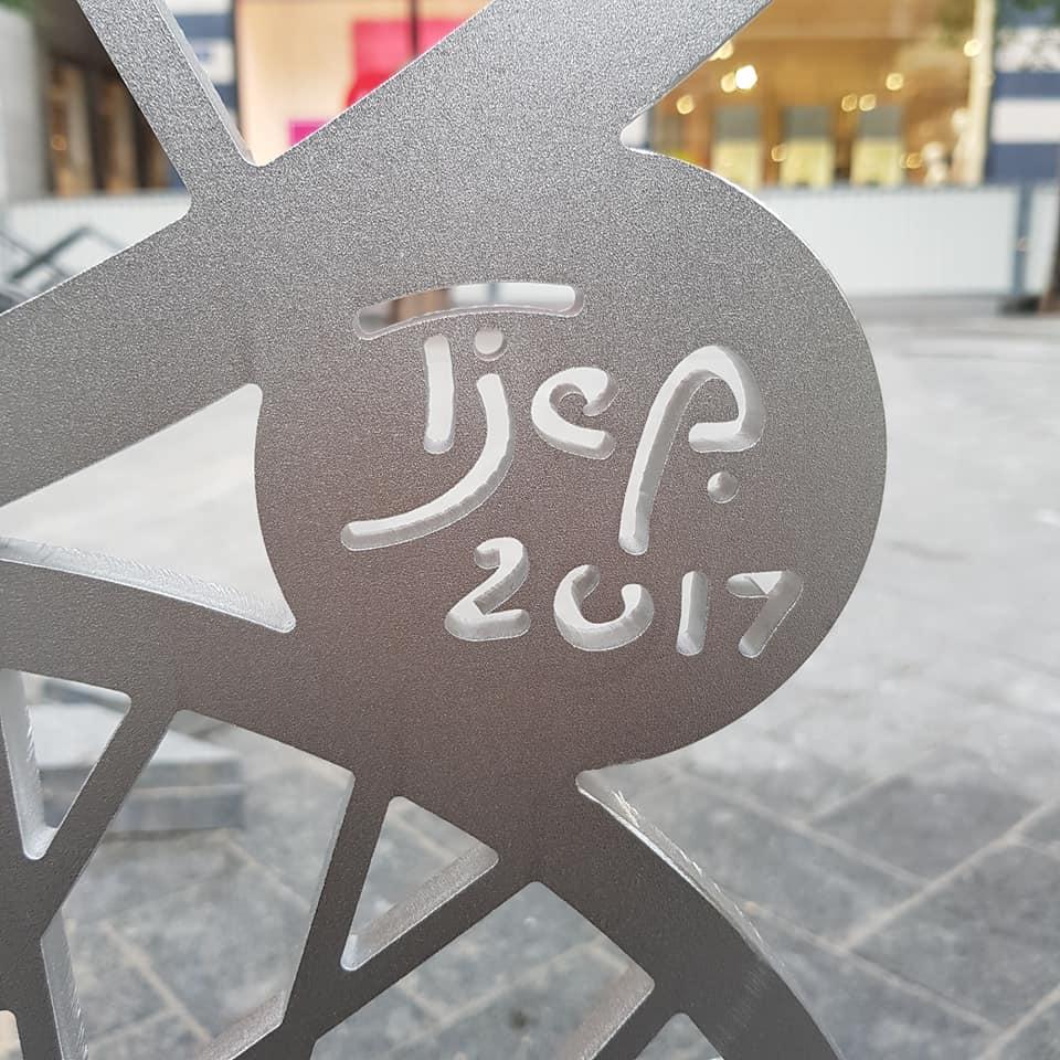 Frank Tjepkema, fietsenstalling Rokin, Amsterdam. Foto met dank aan Frank Tjepkema©