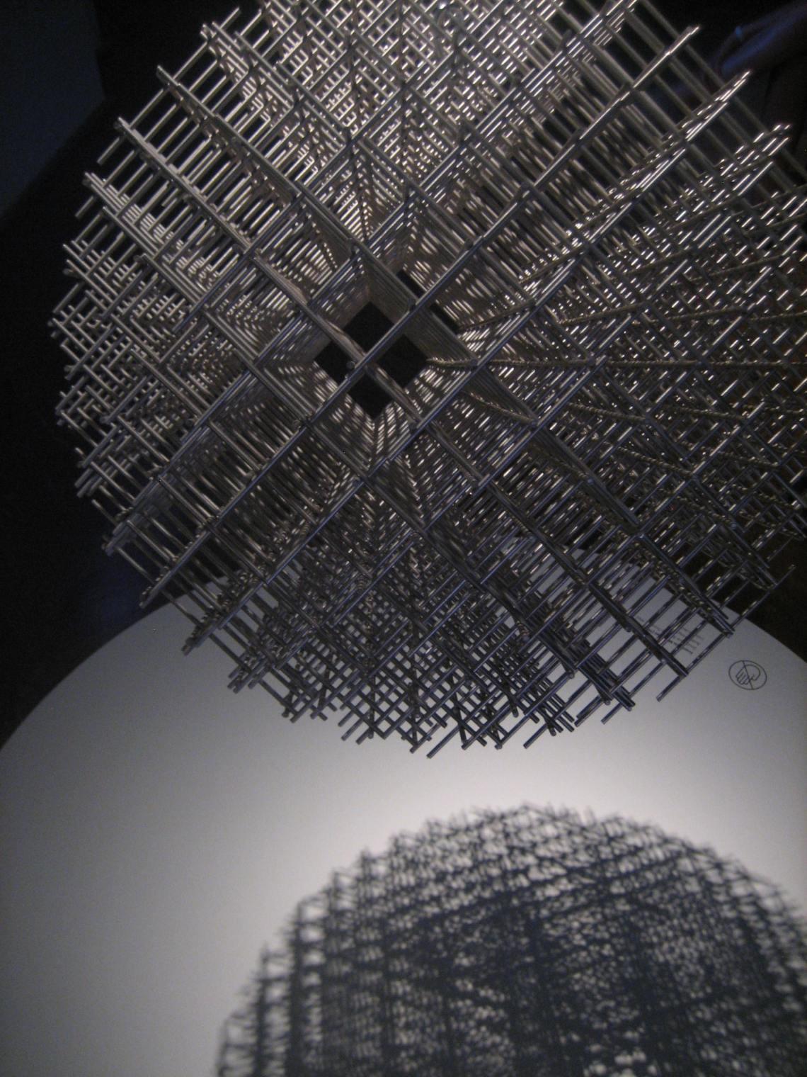 François Morellet, De Calder à Koons, Musée des Arts Décoratifs Parijs. Foto Esther Doornbusch, juni 2018©