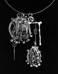 Florica Farcasu, halssieraad, 1968. Foto met dank aan Die Neue Sammlung, Adolf Vrhel©
