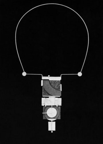 Othmar Zschaler, halssieraad, 1968. Foto met dank aan Die Neue Sammlung, Adolf Vrhel©