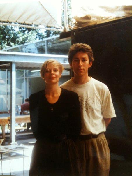 Truike Verdegaal en Theo Smeets, 1992. Foto met dank aan Theo Smeets©