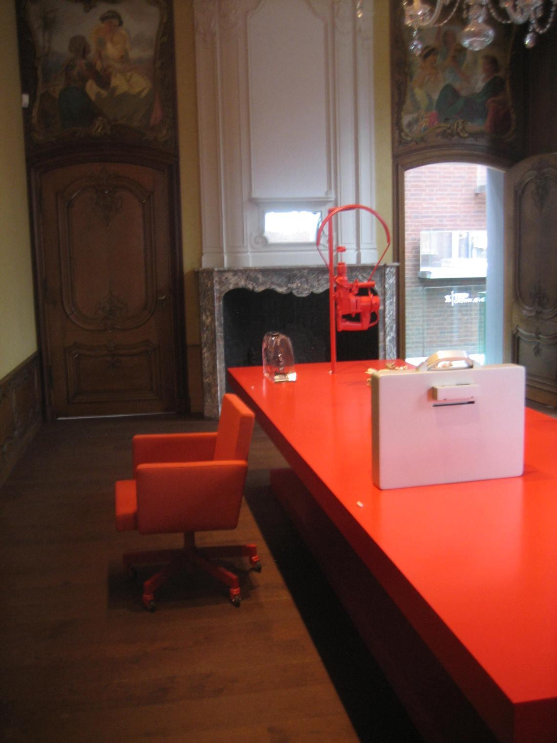 Ted Noten in Museum aan het Vrijthof. Foto Esther Doornbusch, 14 augustus 2018©