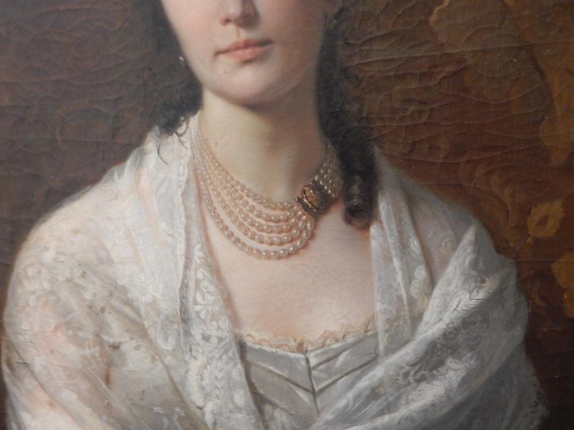 Giovanni Bergamaschi, Fanny Mina Rizzi, 1834. Foto met dank aan Coert Peter Krabbe, september 2018, CC BY 4.0