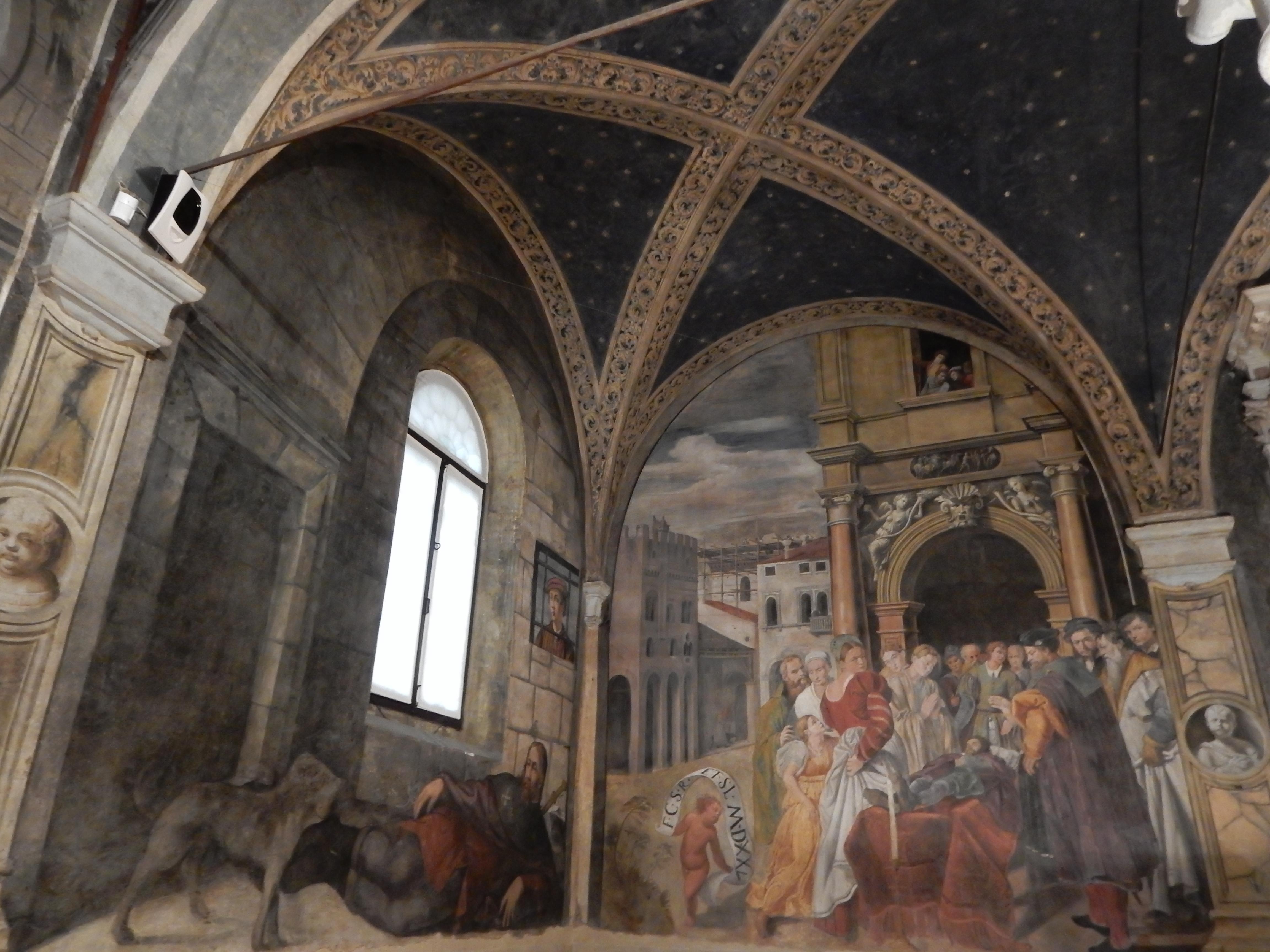 Oratorio di San Rocco. Foto met dank aan Coert Peter Krabbe, september 2018©